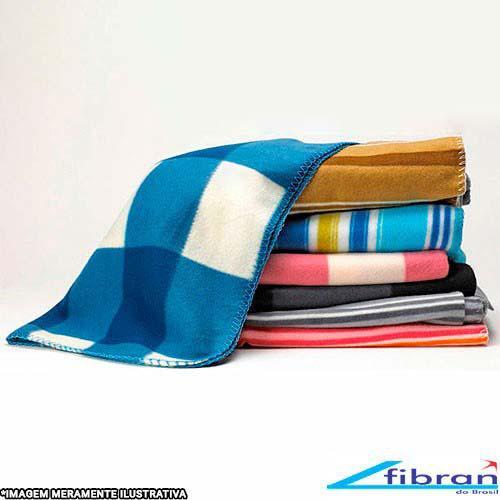 Cobertor de microfibra dupla face