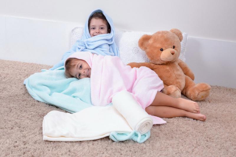 Cobertores de Microfibra para Bebê
