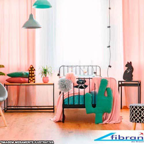 Manta microfibra solteiro rosa